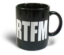 RTFM кружка